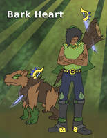 Bark Heart - Ferocious Shepard