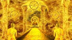 Wheel of Dharmachakra by AlexGroseth