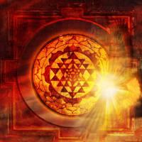 Shree yantra 2 version by AlexGroseth