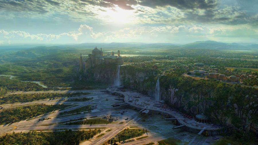 Star wars landscape by calengklik on deviantart - Paysage star wars ...