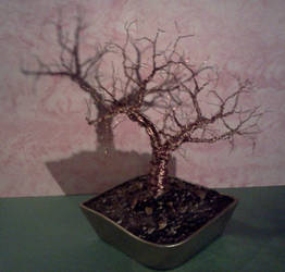 Finished Copper tree