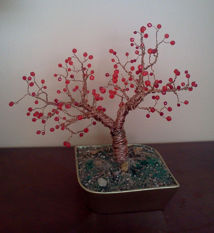How To Make A Wire Tree With Beads Data Custer Tow Bar Wiring Ezt20b Copper Beaded By Ladydracos On Deviantart Rh Com