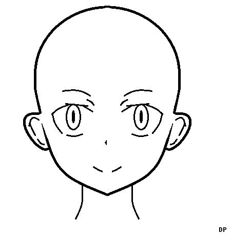 Anime Head Template by ZeldaboyDP on DeviantArt