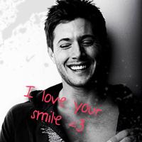 Supernatural - Dean smile by BaDBuNnYyY