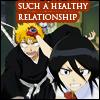 Icon Ichigo and Rukia 10 by Yiramy