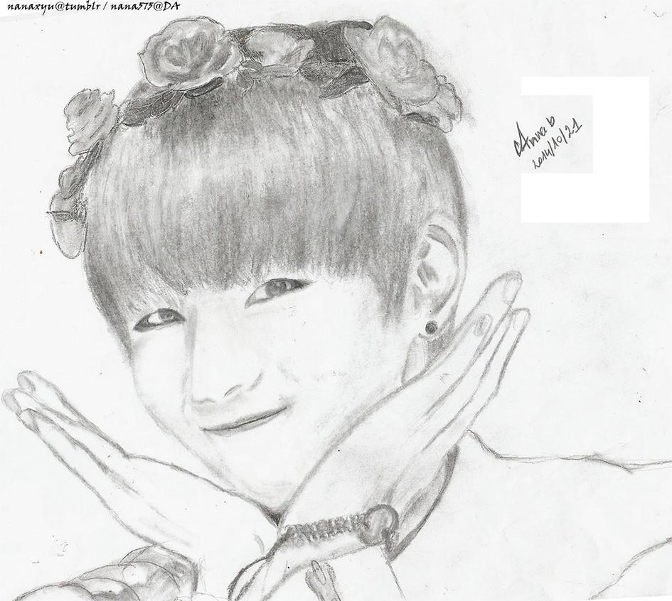 [Fanart] BTS - V  Kim Taehyung By Nana575 On DeviantArt