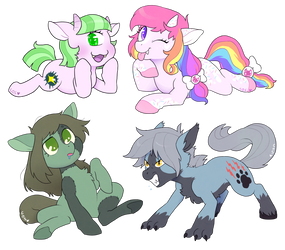 Monster Pony doodles