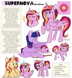 MLP NG: Supernova the alicorn