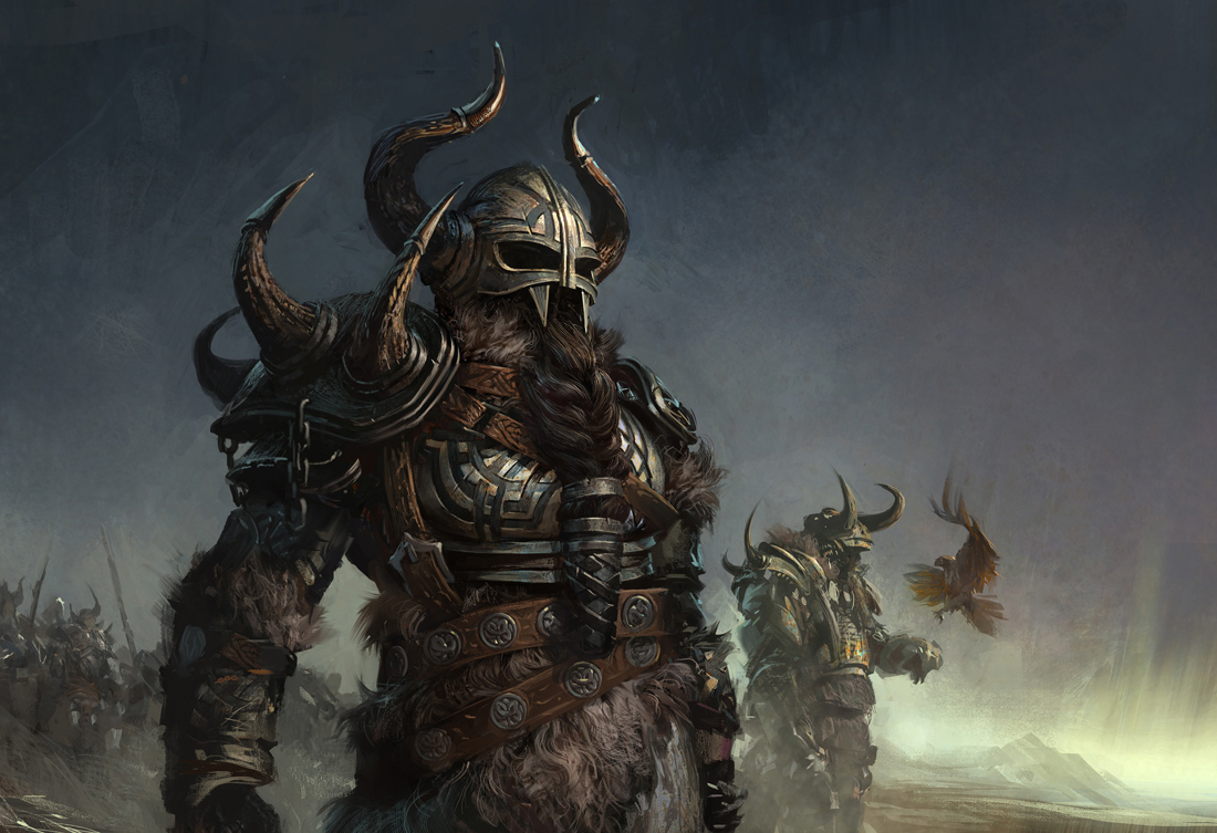 The Vikings by klamatu