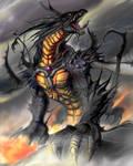 dragon hurlant