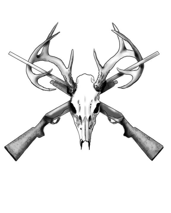 White Tail Deer Sckull Drawn: Deer Skull Tattoo By JessieDreadful On DeviantArt