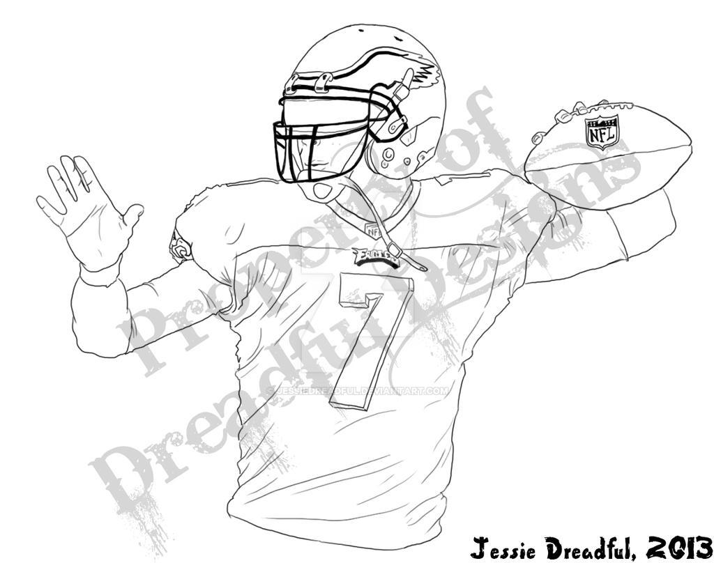 michael vick coloring pages - photo#7
