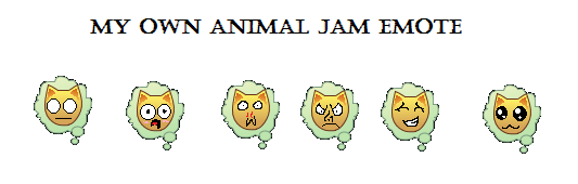 My Own Animal Jam Emote by sandytruong
