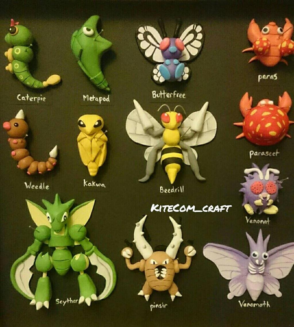 Bug Pokemon Images | Pokemon Images
