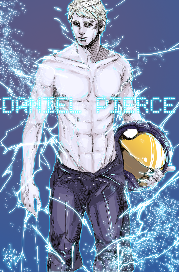 dan abnormal daniel pierce nwm nowhere men pinup prometheus spacesuit sparkles and lightnings topless