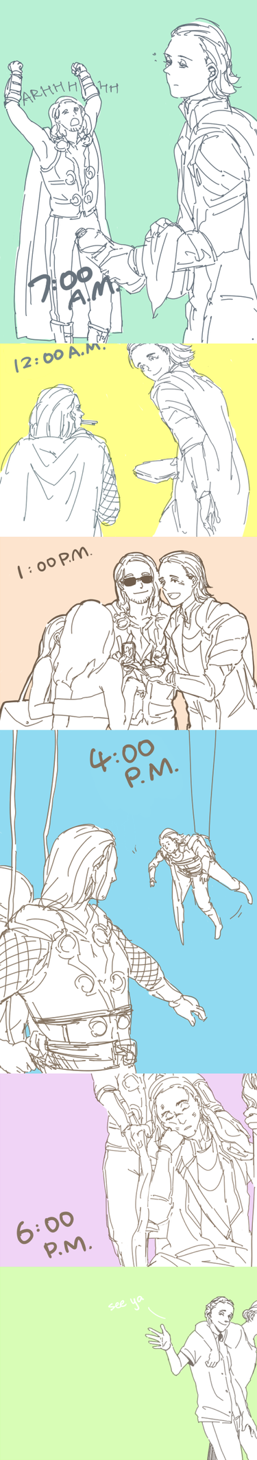 A Day of Odinbros by hammer-in-my-pants