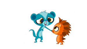 Lps Sunil And Russell Friends Vector
