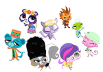 Lps All Around The World Vector