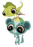 Lps Young Worried Sunil And Vinnie Vector