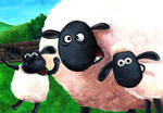 Shaun the Sheep with friends