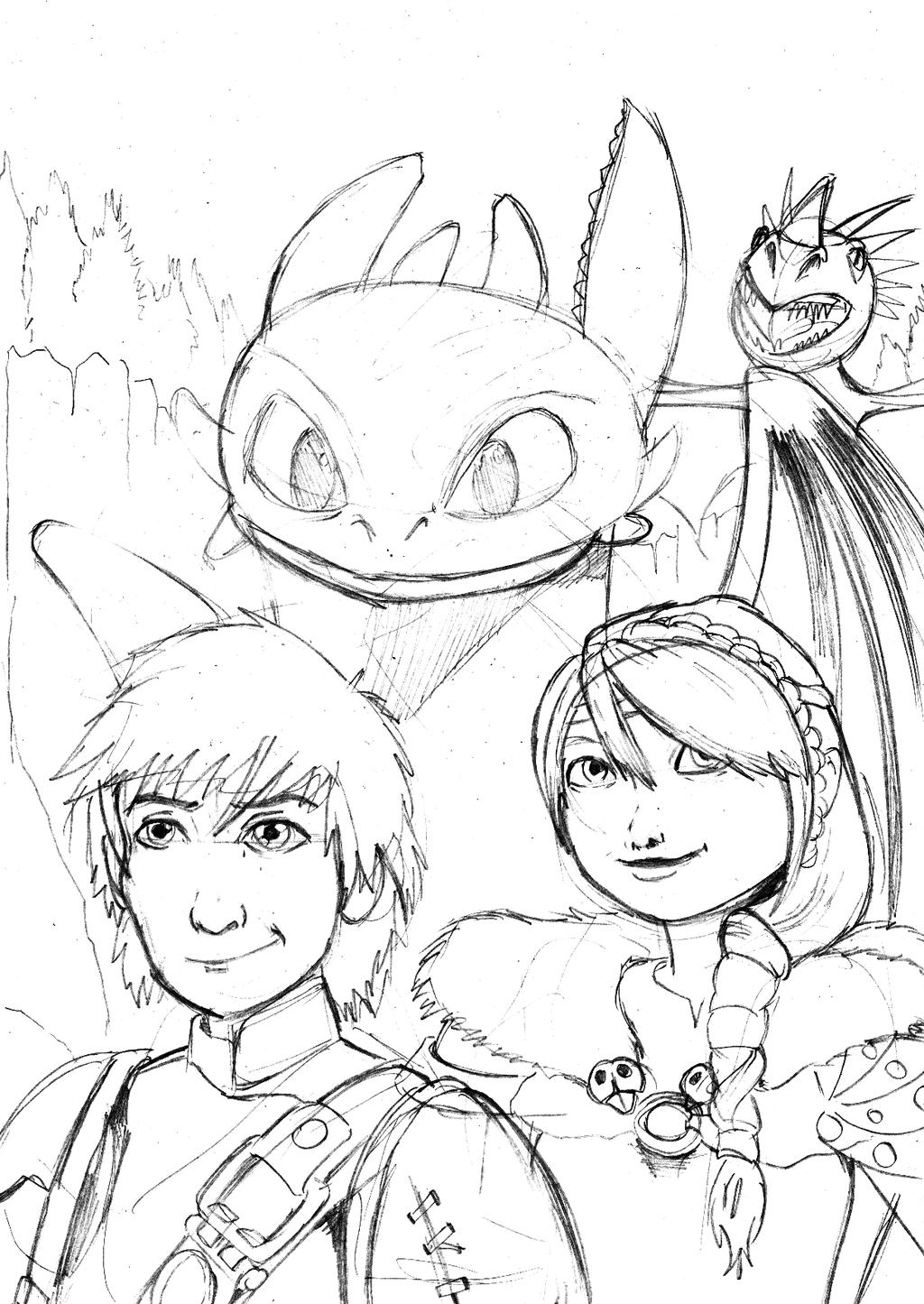 how to train your dragon coloring pages for kids printable - how to train your dragon ii by grim1978 on deviantart