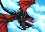 Wild dog of the dragon world.