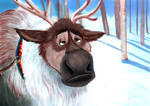 People smell better than reindeer by grim1978