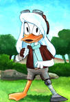 Nothing can stop Della Duck! by grim1978