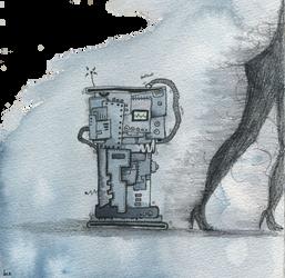 Tribulations d'un robot by Ptite-Lux