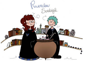 Ravenclaw by Ptite-Lux