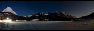 Starlit Moutains by stetre76