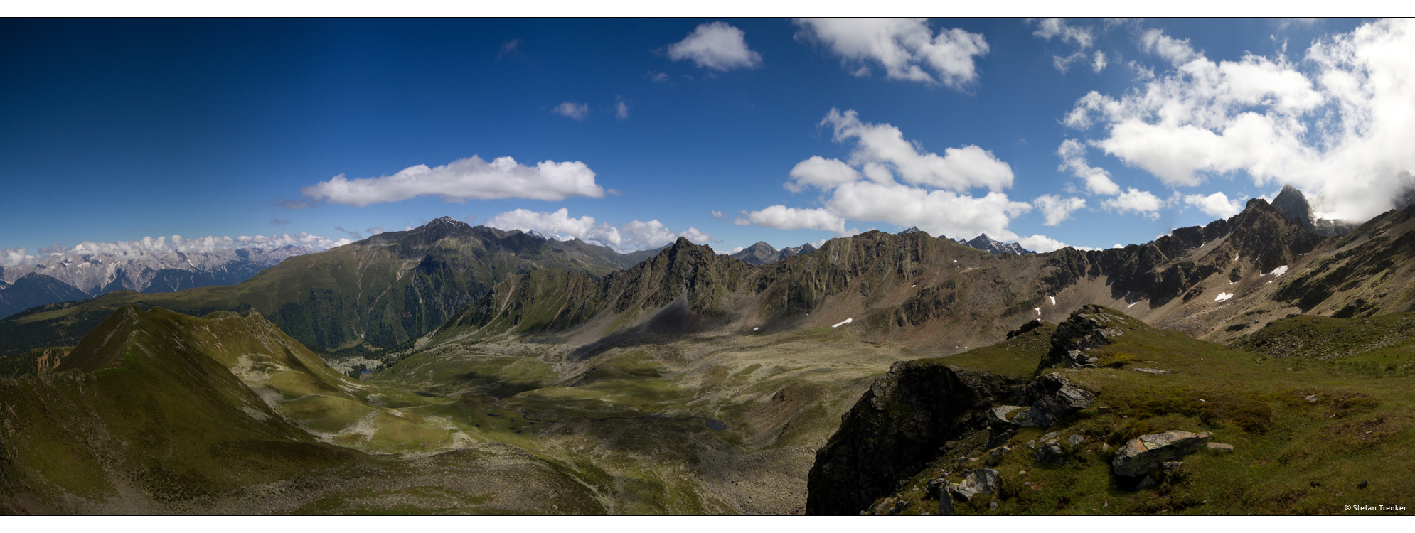 panorama, pano, Austria, Tyrol, mountains, landscape