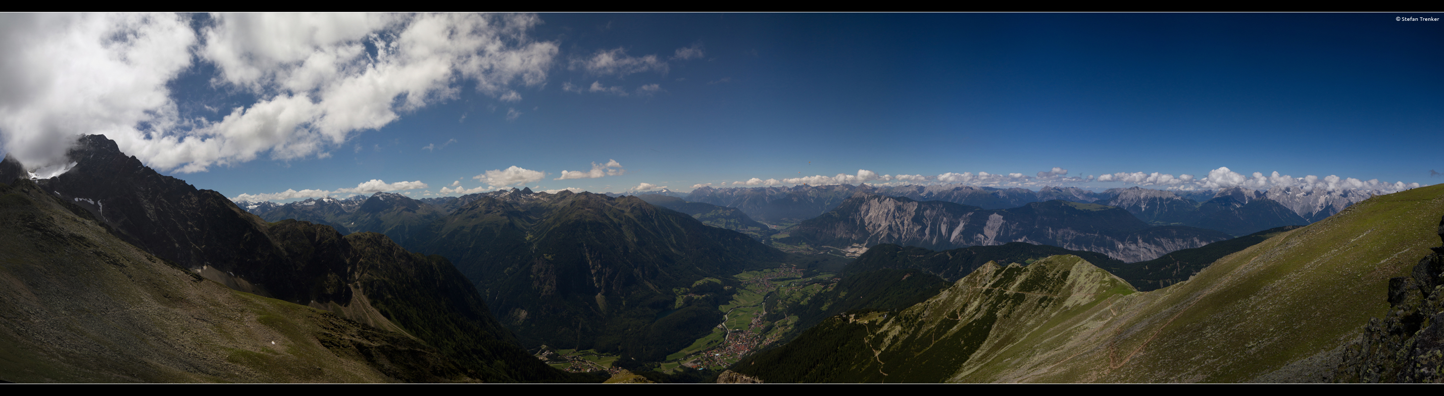 panorama, pano, landscape, Austria, Tyrol, mountains,