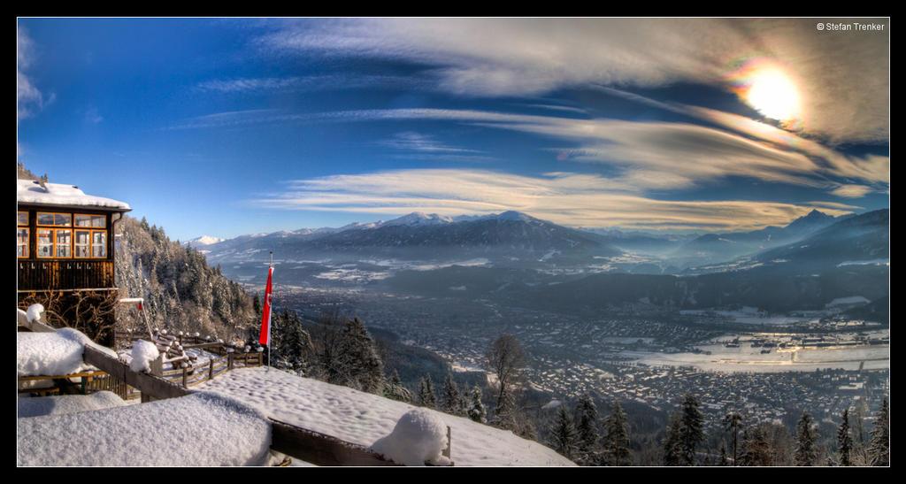 Innsbruck - A Winter Panorama by stetre76
