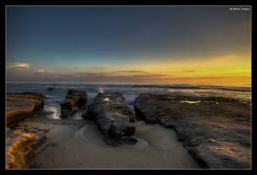 La Jolla sunset by stetre76