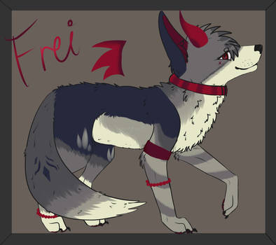 Frei for HeIIAhounds art trade by MelodyLynngrace