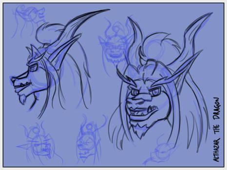 Althy Head Sketches