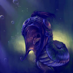 Deep Water Creature by rdsullivan