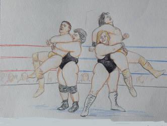 Kougers V Daltons 3 by ringwrestler