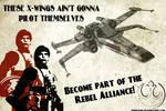 Star Wars Propaganda Poster: REBEL ALLIANCE