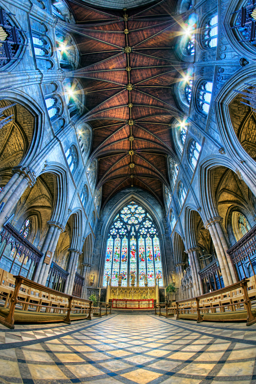 Ripon Cathedral HDR by Bootcoot