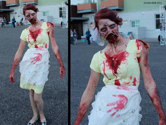 Zombie Walk 2012 by xanthinealkaloid