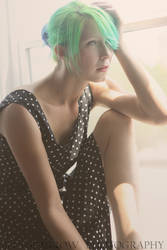 Polka Dot Dress by xanthinealkaloid