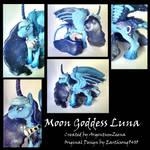 Moon Goddess Luna - Detail Shots
