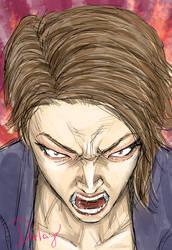 Kimura Yui,furious anger