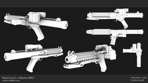 BlasTech E-11 Blaster Rifle
