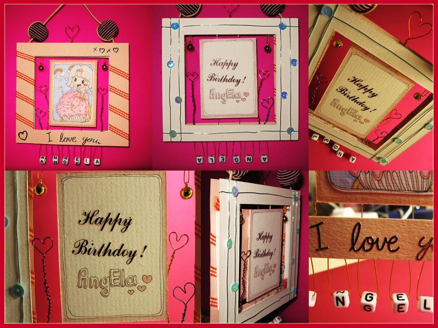 Handmade Birthday Card By Karolinamixiao On Deviantart
