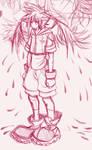 sketching Vanitas as a demon