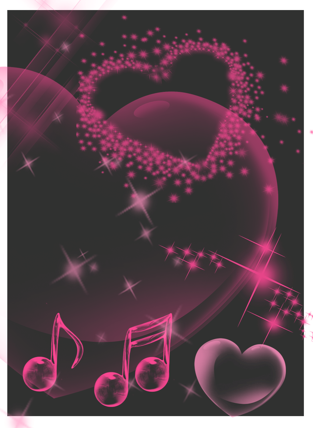 Pink and black Background by KittyBat1234 on DeviantArt