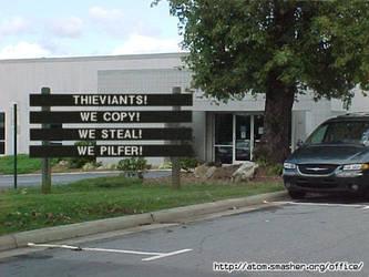 Hey Art Thieves! by Mach68